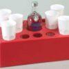 Vassoio porta bottiglie, bicchieri, lattine e ghiaccio