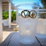 Bicchiere monouso ottagonale in polipropilene