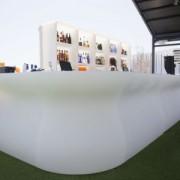 Bancone bar in polietilene modulare