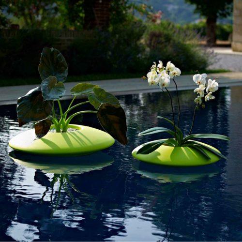 Porta bottiglie galleggiante per spa e centri benessere