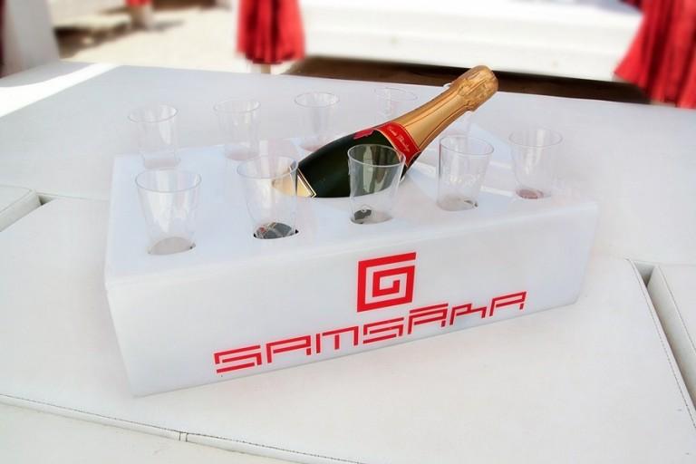 Ice Glam porta champagne.