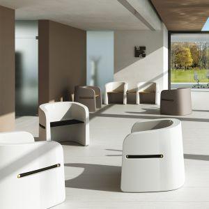seduta in polietilene personalizzabile