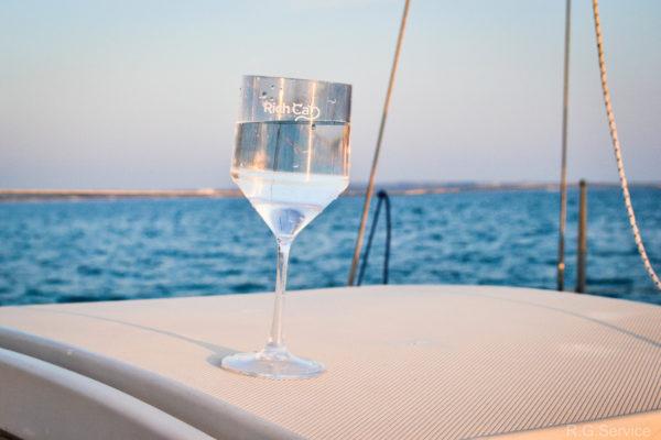 calice vino in plastic aecologico