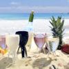 calici e bicchieri per spiagge