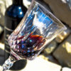 calici vino in plastica infrangibile ecologici in policarbonato