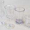 bicchieri glam vintage in policarbonato